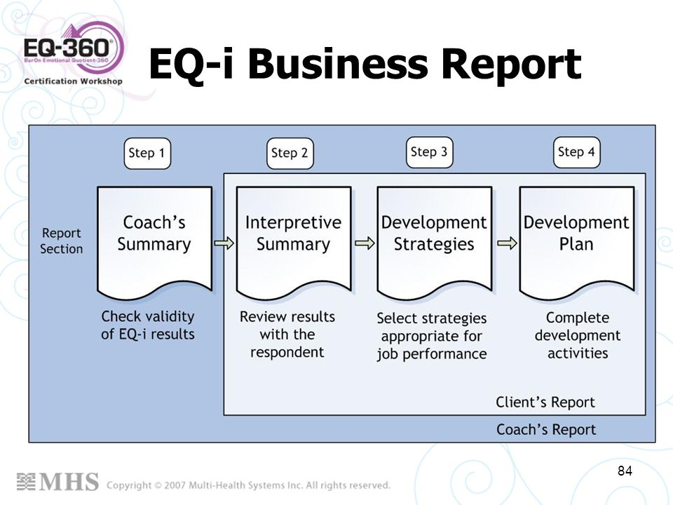 EQ-i Business Report