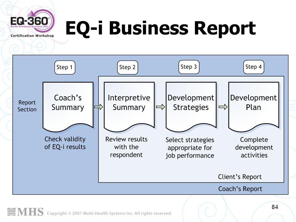 EQ-i Business Report