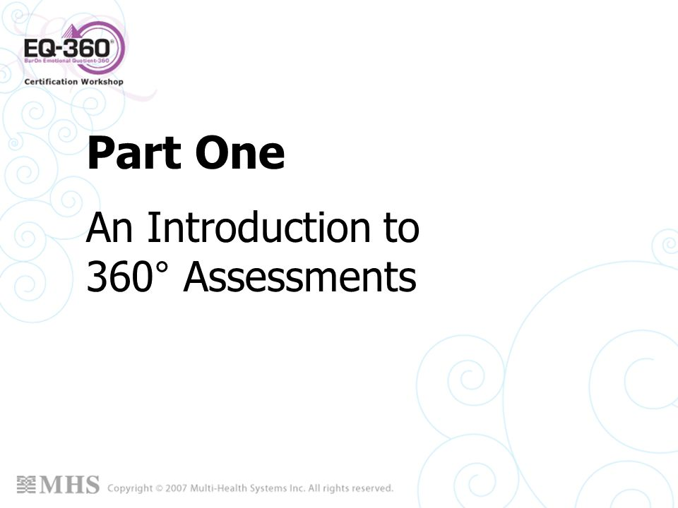 An Introduction to 360° Assessments