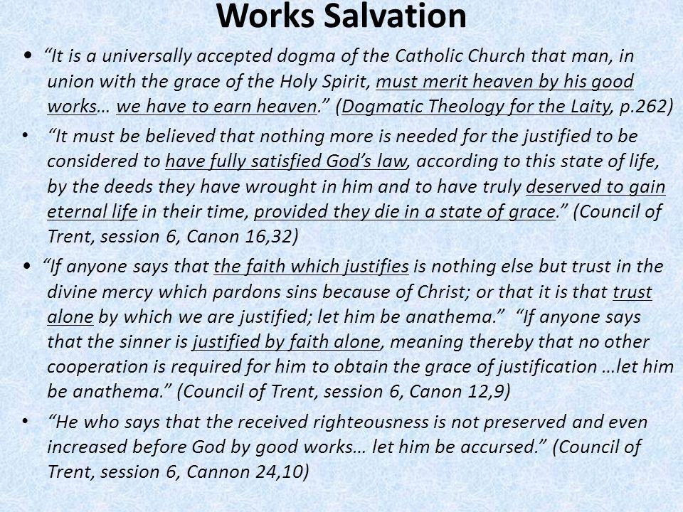 Works Salvation