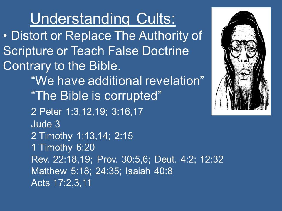 We have additional revelation The Bible is corrupted
