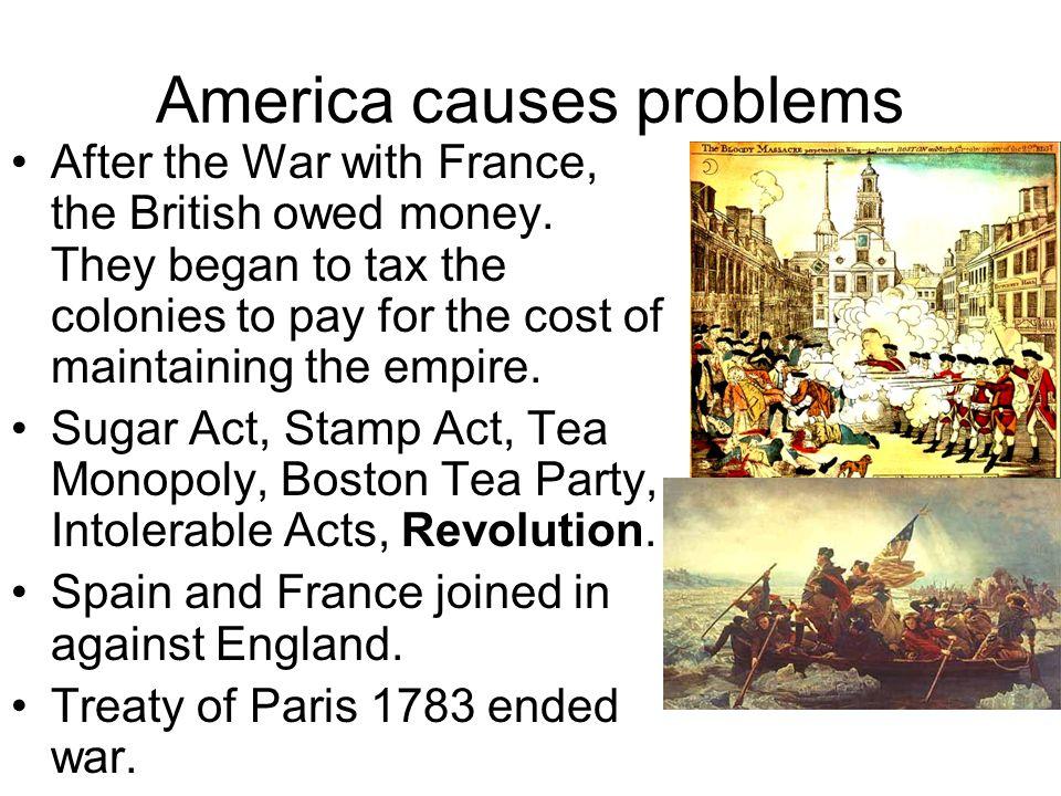 America causes problems