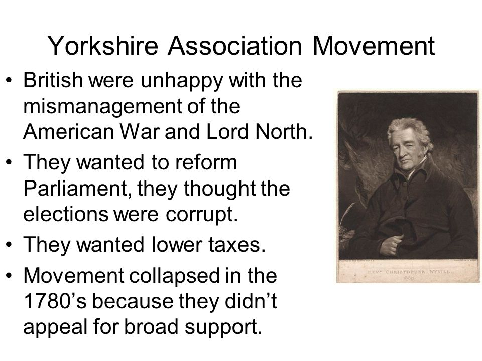 Yorkshire Association Movement