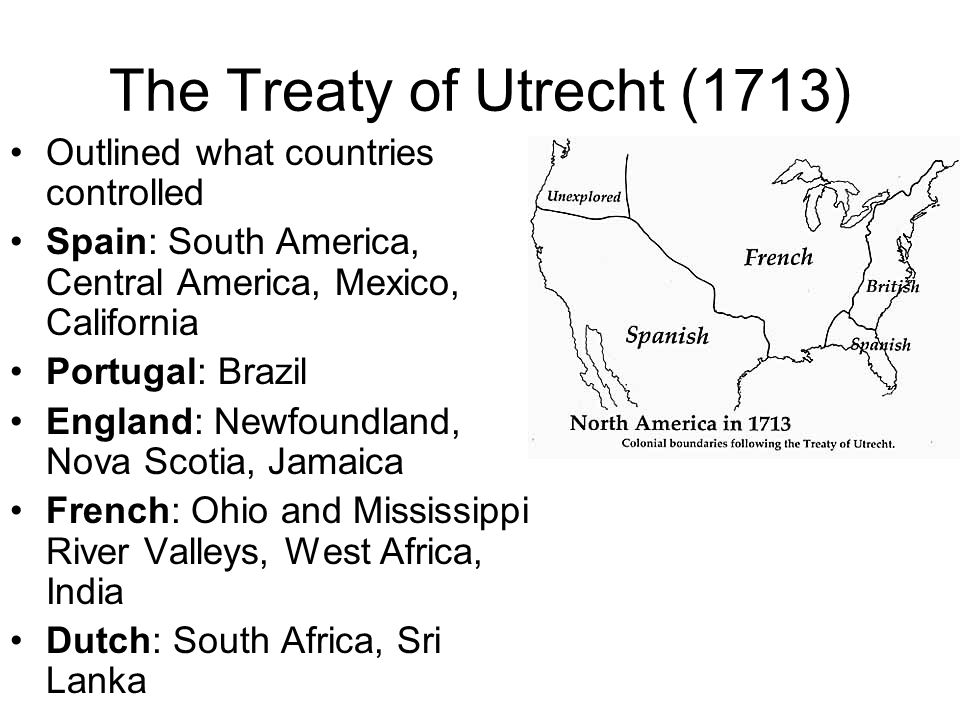 The Treaty of Utrecht (1713)