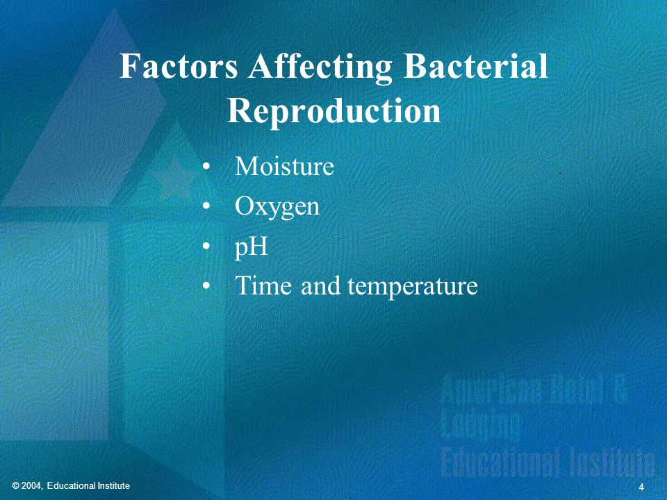 Factors Affecting Bacterial Reproduction
