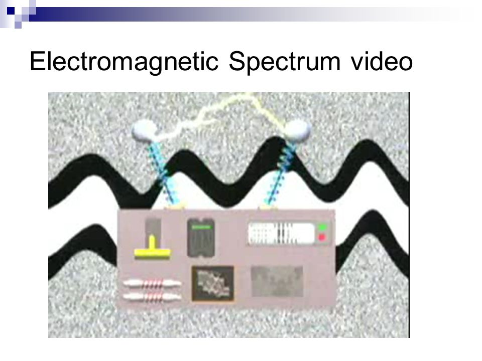 Electromagnetic Spectrum video