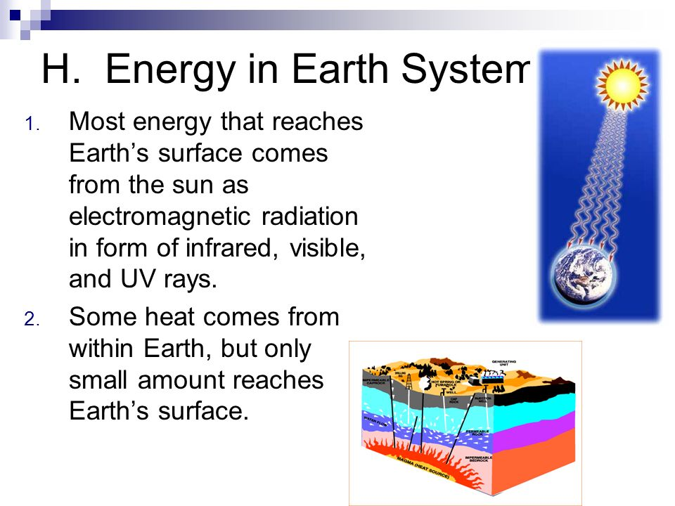 H. Energy in Earth System
