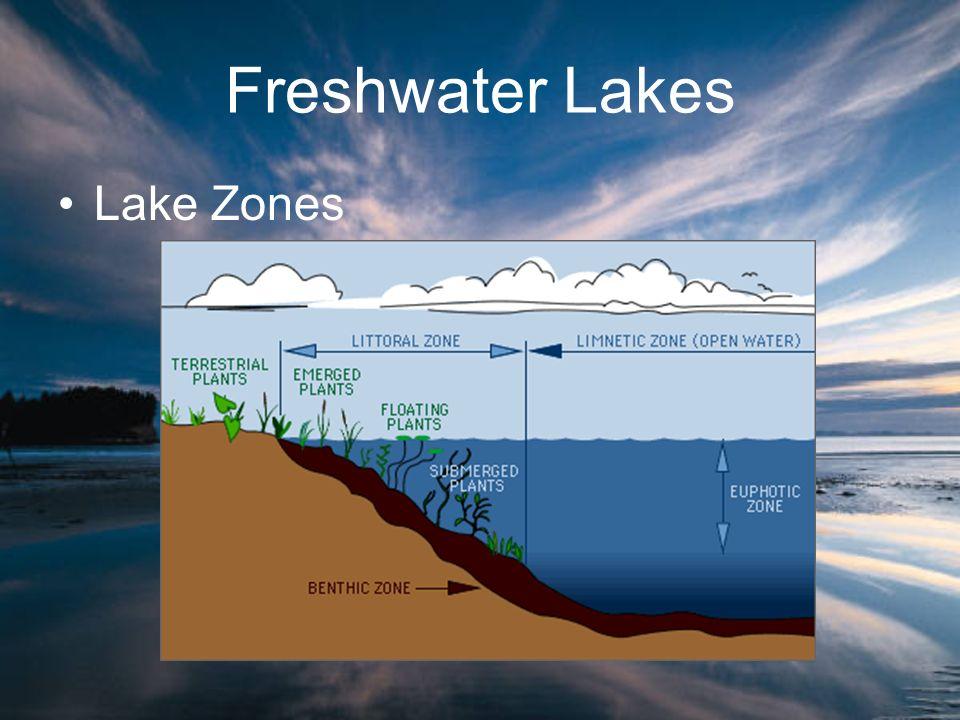 Freshwater Lakes Lake Zones