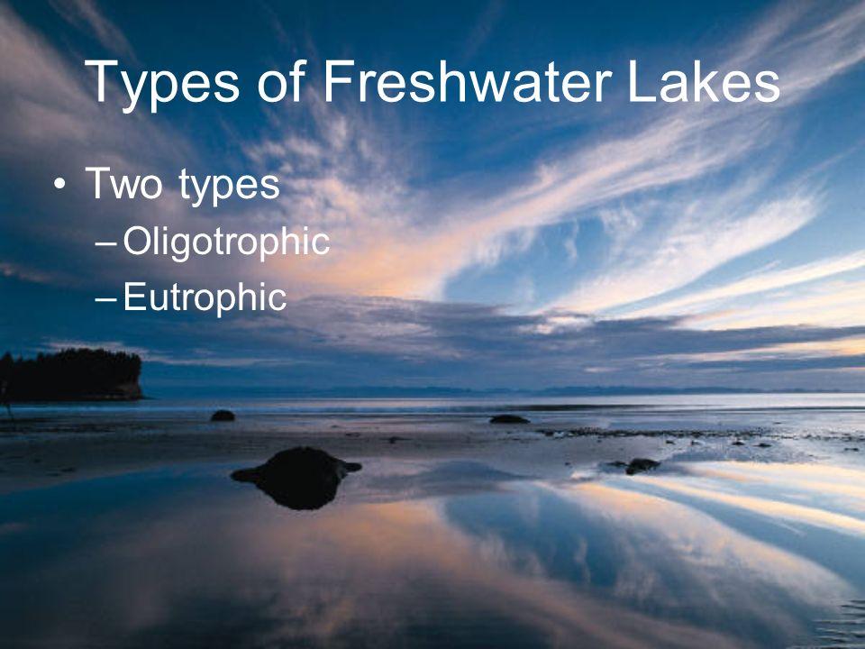 Types of Freshwater Lakes