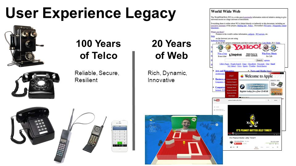 User Experience Legacy