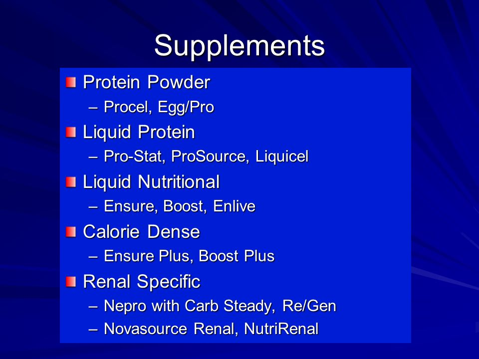 Supplements Protein Powder Liquid Protein Liquid Nutritional