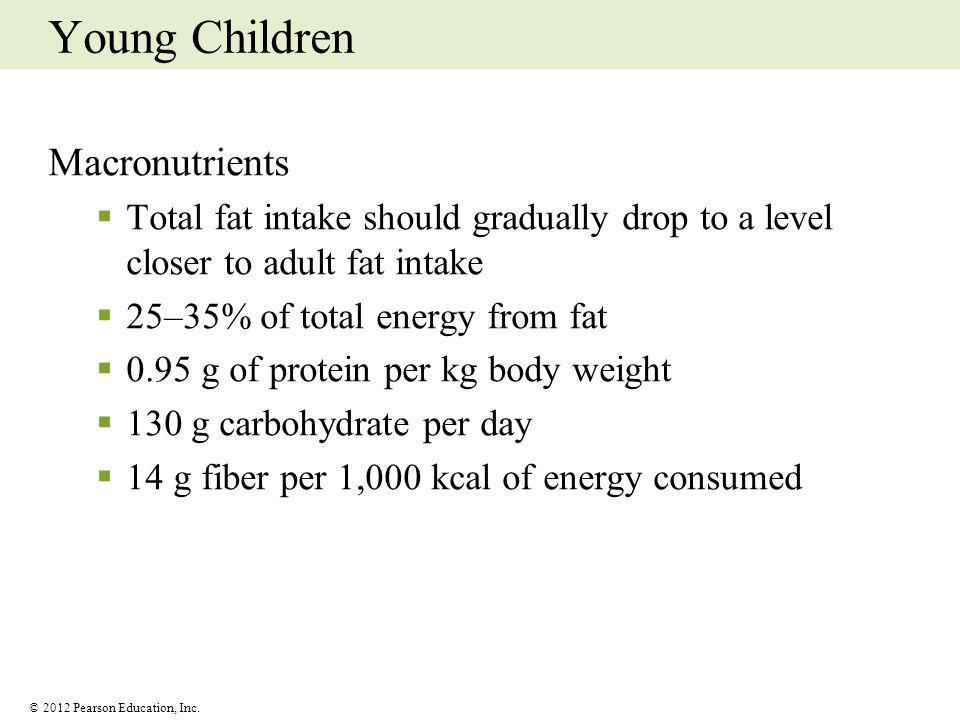 Young Children Macronutrients