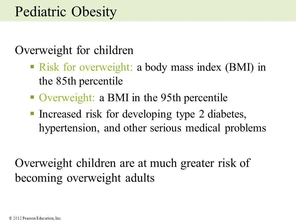 Pediatric Obesity Overweight for children