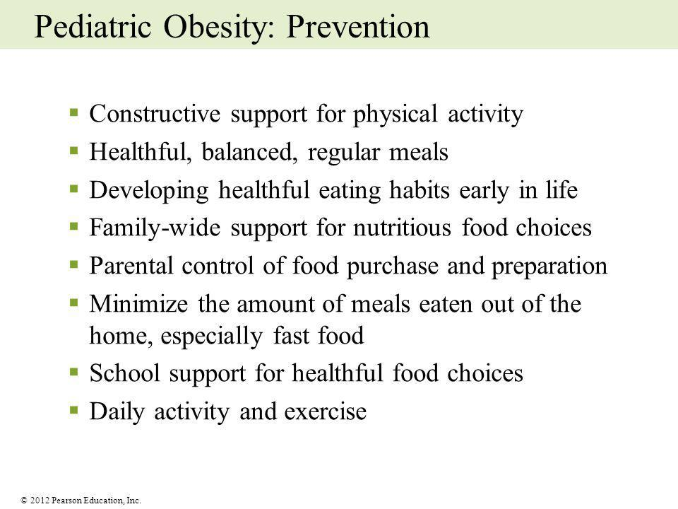 Pediatric Obesity: Prevention