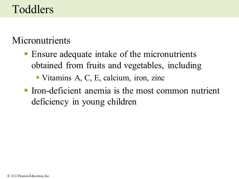 Toddlers Micronutrients