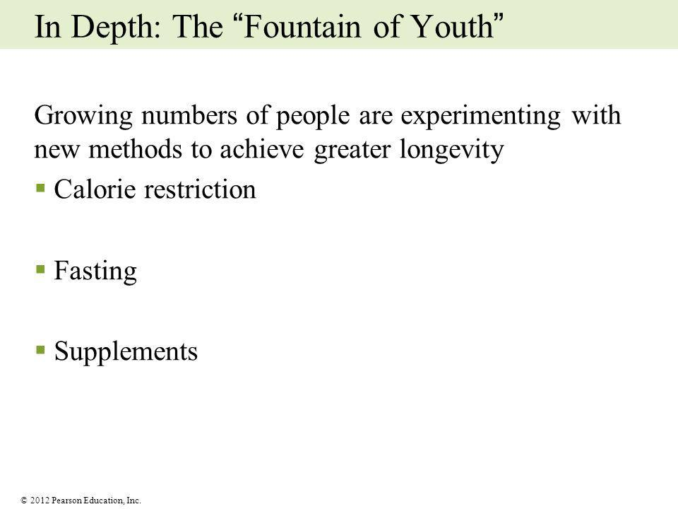 In Depth: The Fountain of Youth
