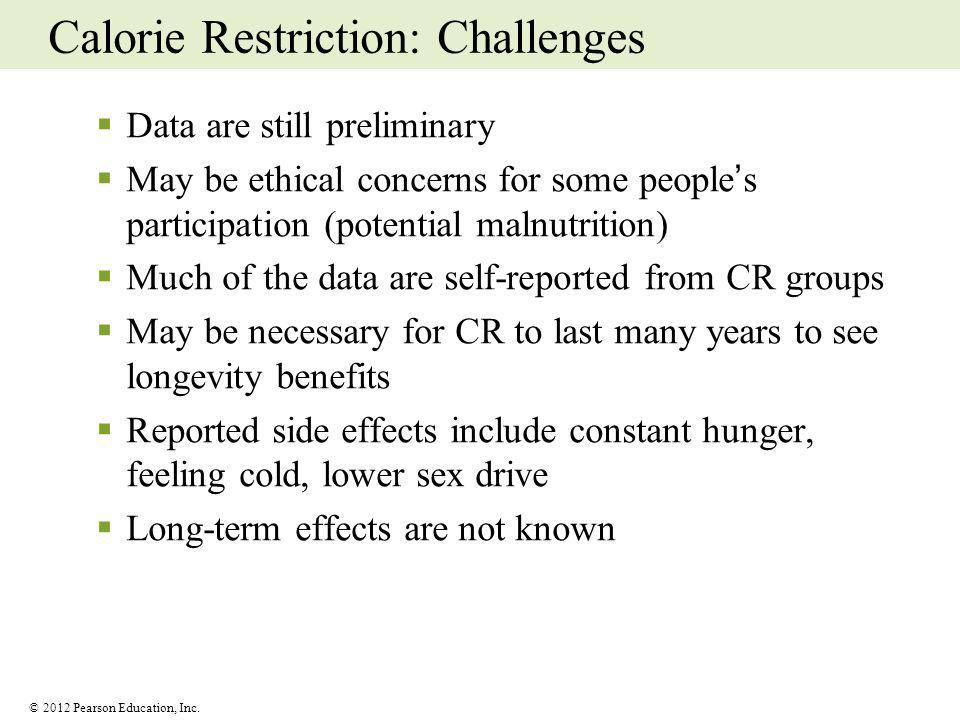 Calorie Restriction: Challenges