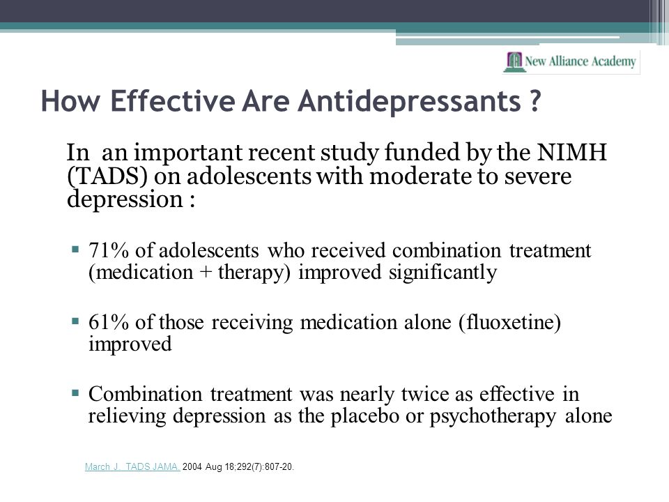 How Effective Are Antidepressants