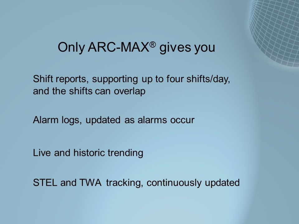 Only ARC-MAX® gives you