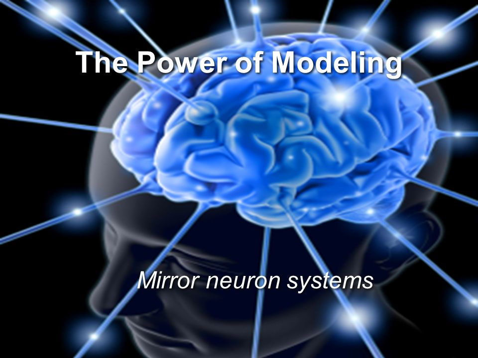 The Power of Modeling Mirror neuron systems 30
