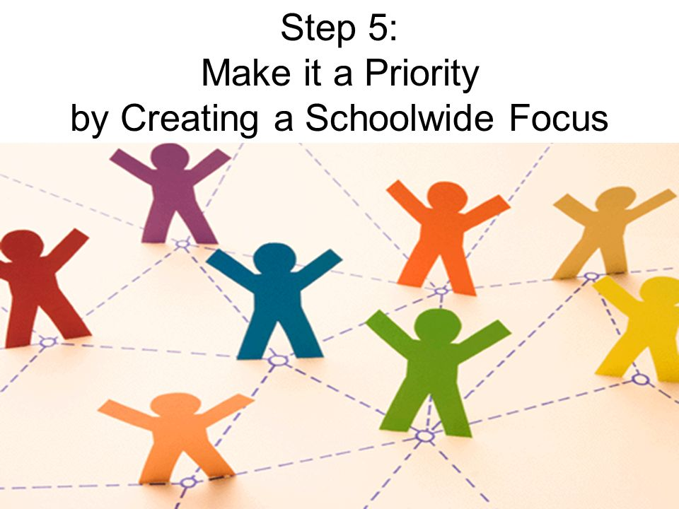 by Creating a Schoolwide Focus