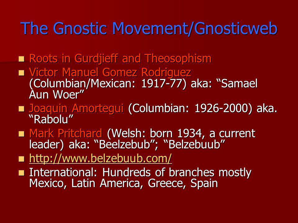 The Gnostic Movement/Gnosticweb
