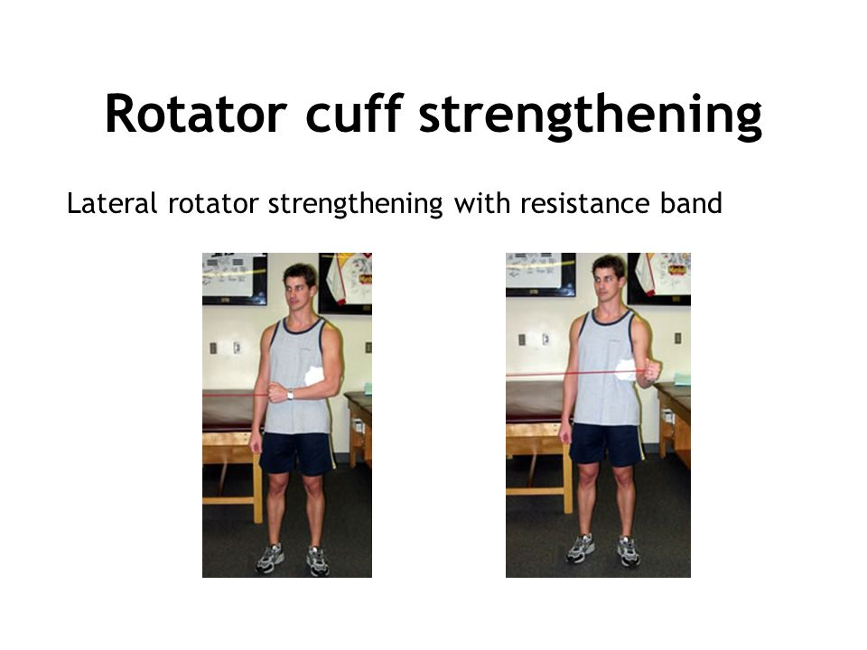 rotator cuff strengthening exercises resistance bands pdf