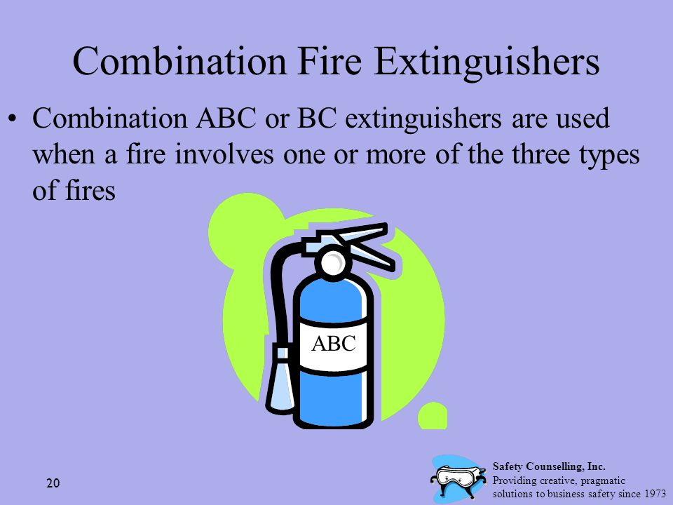 Combination Fire Extinguishers