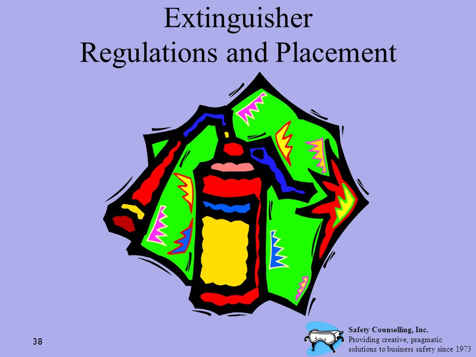 Extinguisher Regulations and Placement