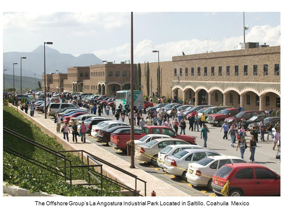 The Offshore Group's La Angostura Industrial Park Located in Saltillo, Coahuila Mexico