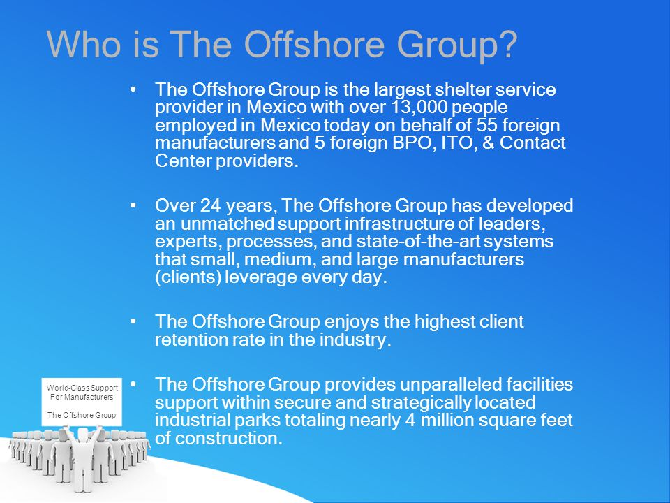 Who is The Offshore Group