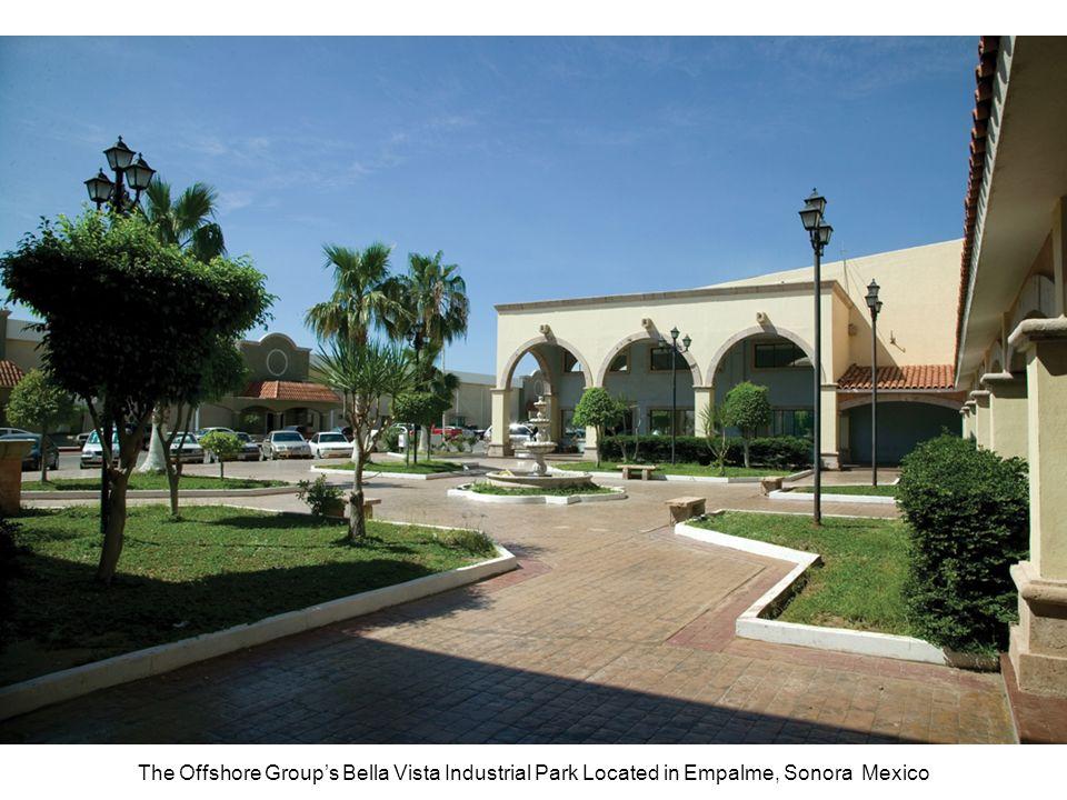 The Offshore Group's Bella Vista Industrial Park Located in Empalme, Sonora Mexico