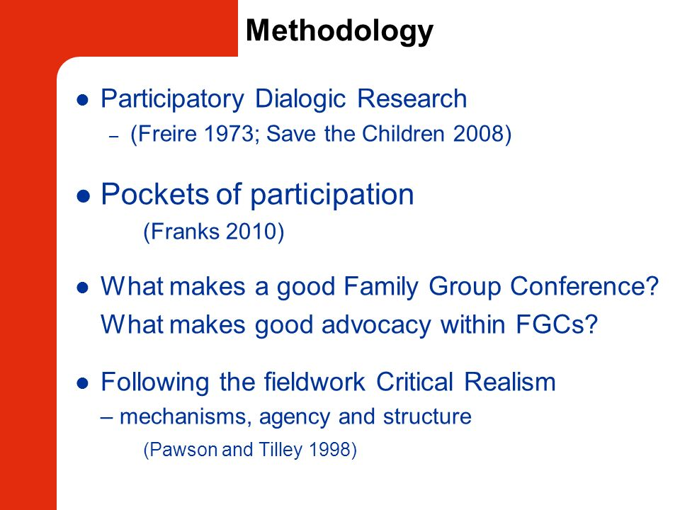 Pockets of participation