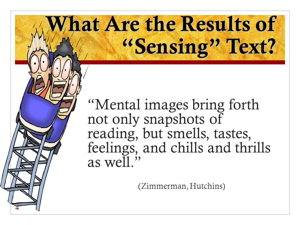 What Are the Results of Sensing Text