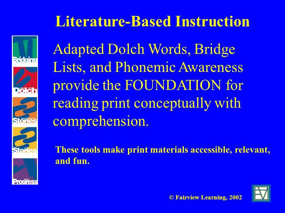 Literature-Based Instruction