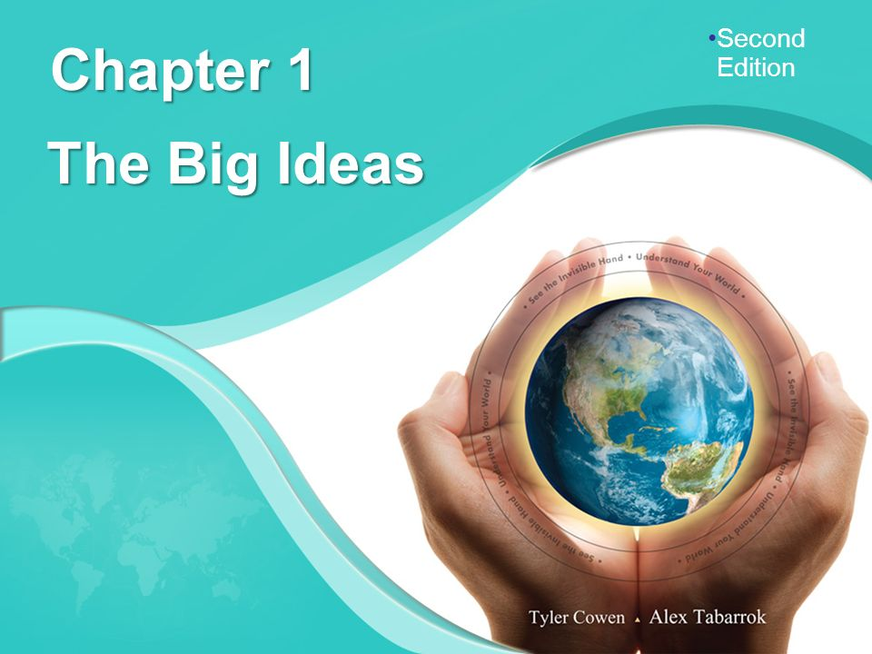 Chapter 1 The Big Ideas