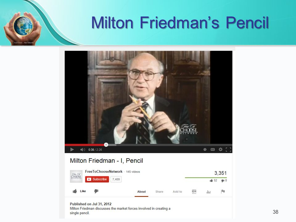 Milton Friedman's Pencil