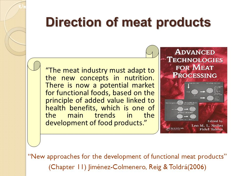 Direction of meat products