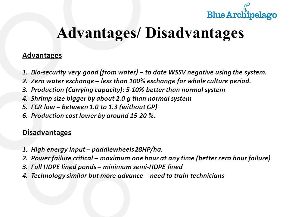 Advantages/ Disadvantages