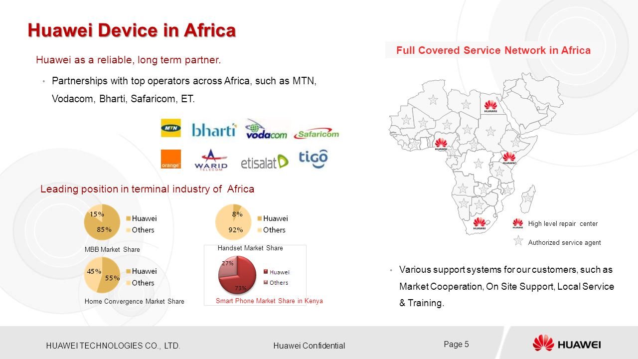 Huawei Device in Africa