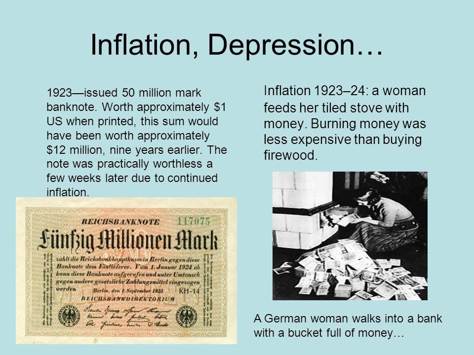 Inflation, Depression…