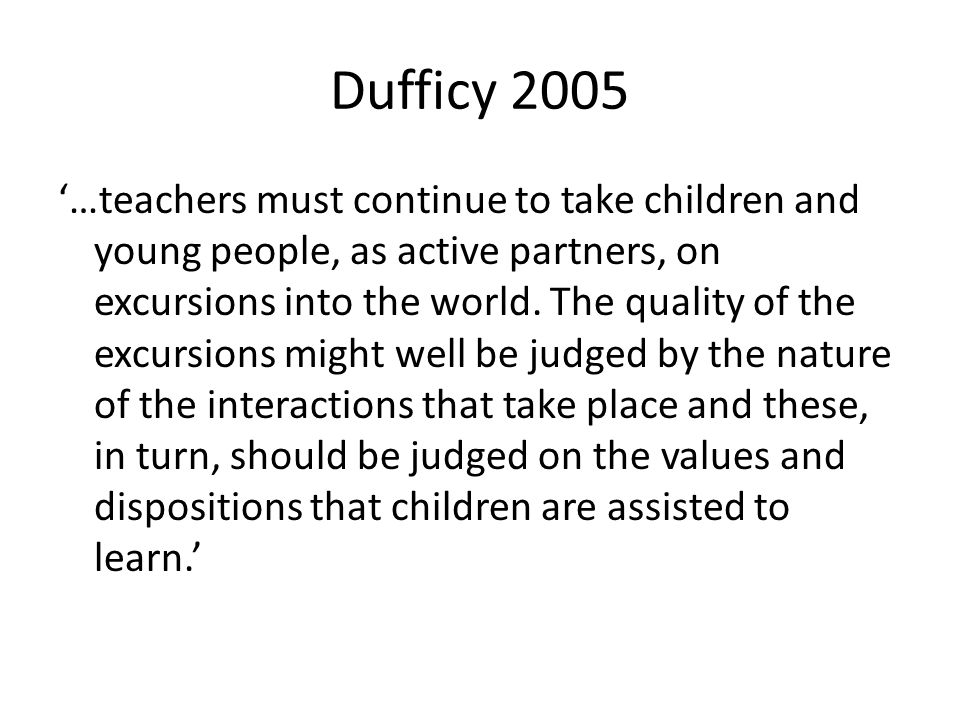 Dufficy 2005