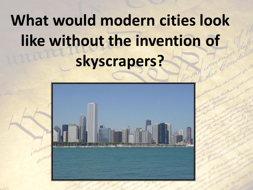 What would modern cities look like without the invention of skyscrapers