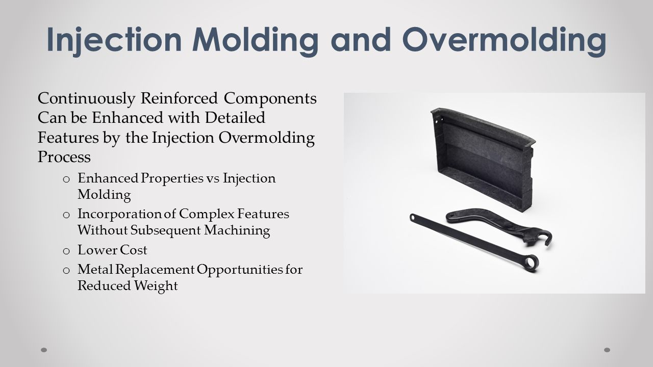 Injection Molding and Overmolding