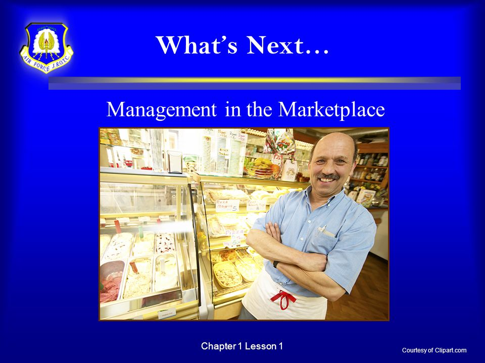 Management in the Marketplace