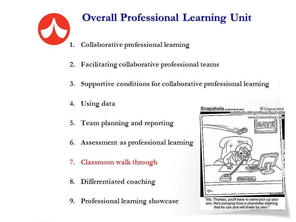 Overall Professional Learning Unit