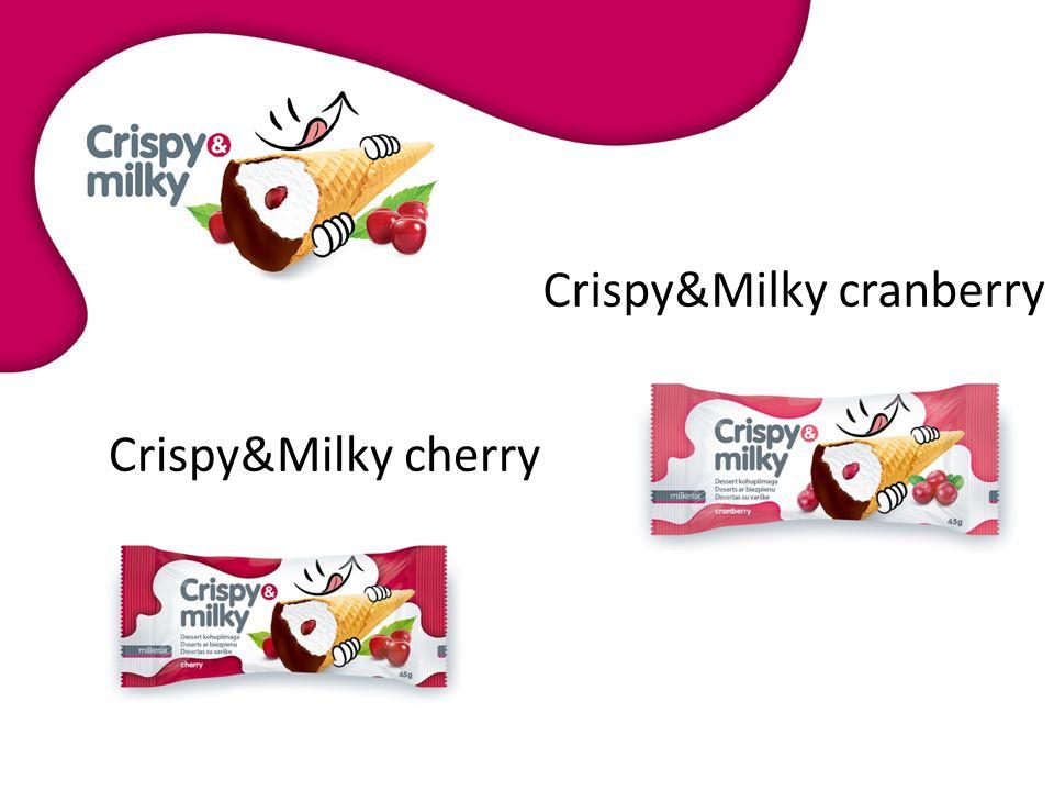 Crispy&Milky cranberry