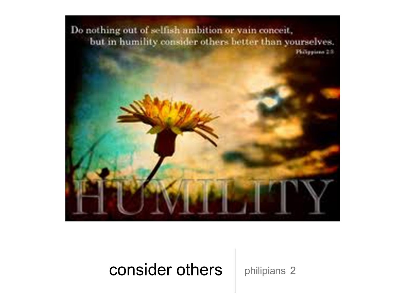 consider others philipians 2
