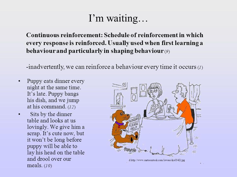 I'm waiting…