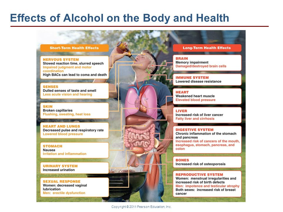 Effects of Alcohol on the Body and Health